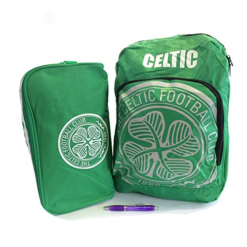 Back to School with Celtic FC Backpack And Boot Bag