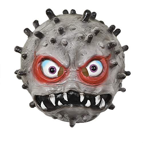 WZZDMaschera da Coronavirus Horror di Halloween Bianco