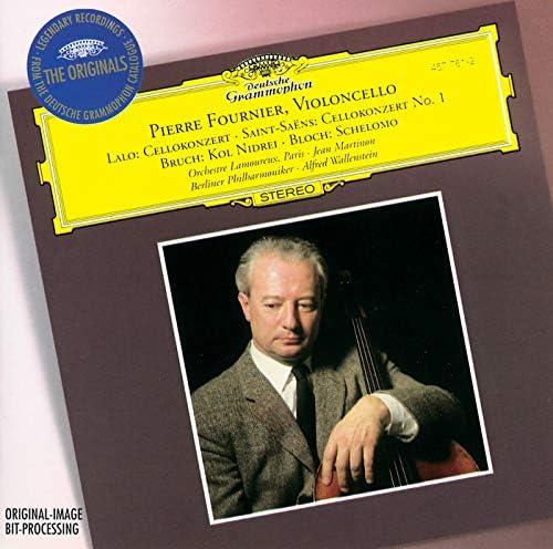 Pierre Fournier, Orchestre des Concerts Lamoureux, Jean Martinon, Berliner Philharmoniker & Alfred Wallenstein