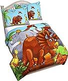 Utopia Bedding Couette Enfant Dinosaure - Couette Légère avec Taies Oreiller (163 x 224 cm)