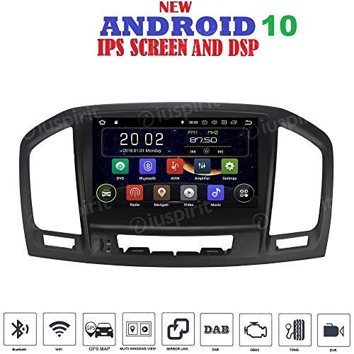 Android 10 GPS DVD USB SD WI-FI Bluetooth Autoradio für Opel Insignia / Vauxhall CD300 CD400 2009, 2010, 2011, 2012