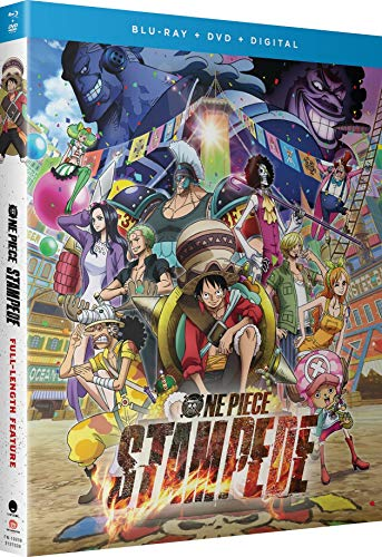 One Piece: Stampede Blu-ray + DVD + Digital - BD Combo Pack