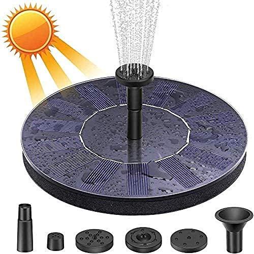 260L//H panneau solaire Propulsé eau fonction pompe piscine jardin étang aquarium fontaine