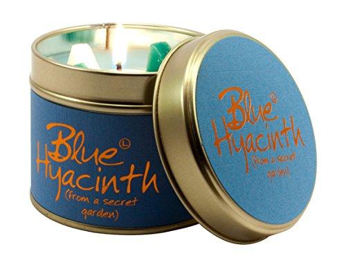 Lily Flame Blue Hyacinth Tin, l x 7.7cm w x 6.6cm h