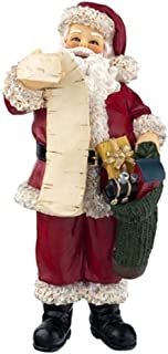 Dolls House Miniature People 1:12 Resin Father Xmas Figure Santa Claus