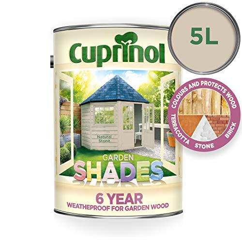 Cuprinol CUPGSNS5L 5 Litre Garden Shades Paint - Natural Stone