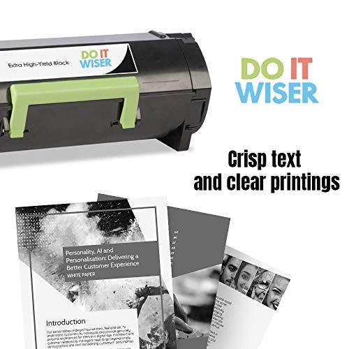 Do It Wiser Compatible Toner Cartridge Replacement for 60F1H00 601H Lexmark k MX310dn MX410de MX511de MX310 MX410 MX510 MX511 MX610 MX611 (10,000 Pages) 2-Pack Photo #4