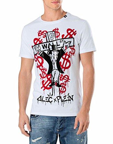 Philipp Plein ALEC X Plein Camiseta Cuello Redondo SS MONOPOLI