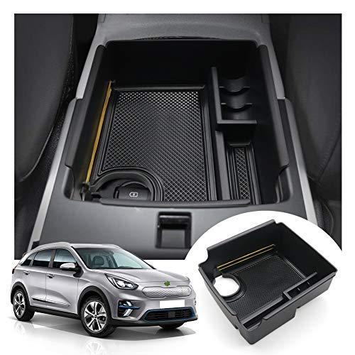 LFOTPP E-Niro Apoyabrazos Consola Central Bandeja, Caja de Almacenamiento Organizador coche Interior Accesorios