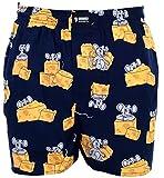 Happy Shorts Webboxer Herren Boxer Motiv Boxershorts Farbwahl, Grösse:XL - 7-54, Präzise Farbe:Design 2