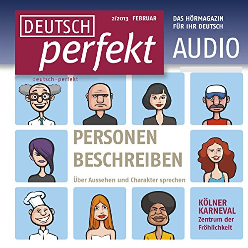Deutsch perfekt Audio. 2/2013 Titelbild