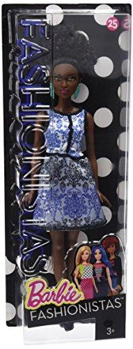 Barbie - DMF27 - Fashionistas 25 -Look Brocart Bleu