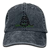 uykjuykj Cowboy Baseball Cap Men&Women Dad Style Hats Dont Tread On Me Black Adjustable Unique Personality Cap