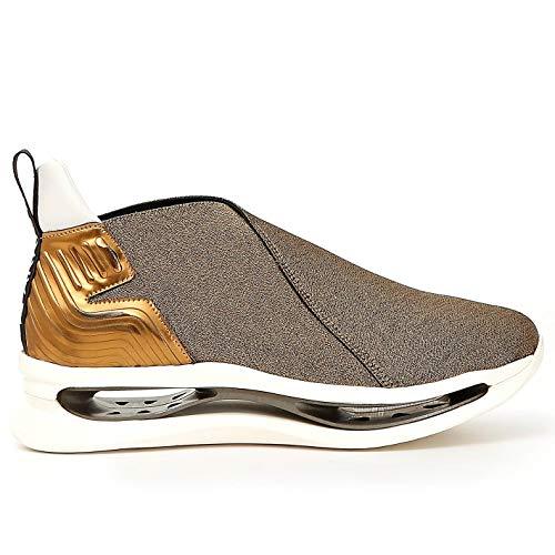 Arkistar Slip on Sneakers Kimono KG912 elastisch goud - KG912 2178 - maat