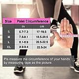 Fitself Fitness Handschuhe Trainingshandschuhe Gewichtheben Handschuhe mit Handgelenkstütze für Kraftsport Crossfit Workout Herren Damen - 7