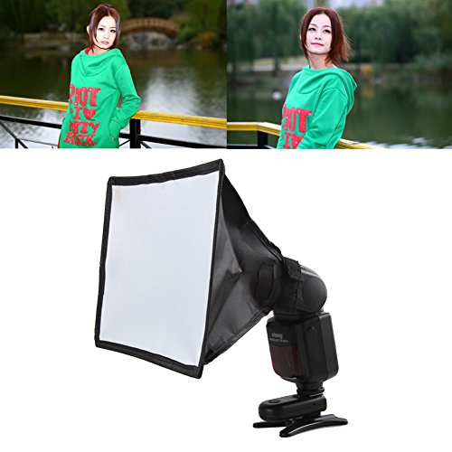 Foru-1 Universele Flash Lamp Soft Box Mini Diffuser voor Canon Nikon Sony 15 * 17cm