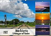 Mein Ueckeritz - Erholung pur auf Usedom (Wandkalender 2022 DIN A2 quer): Impressionen aus dem ruhigen Ueckeritz auf Usedom am Achterwasser (Monatskalender, 14 Seiten )