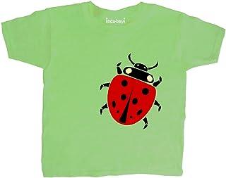 Seagull T-Shirt 6-12 months Organic Baby Boy Clothes Kite Green