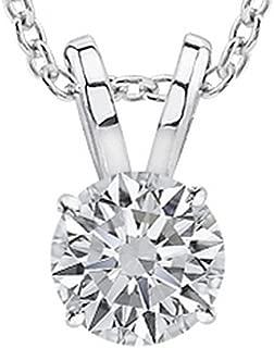 Best round diamond necklace Reviews