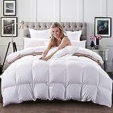 C&W Luxurious Siberian White Goose Down Comforter King Size/California King...