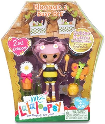 Mini Lalaloopsy Doll - Blossom's A Busy Bee