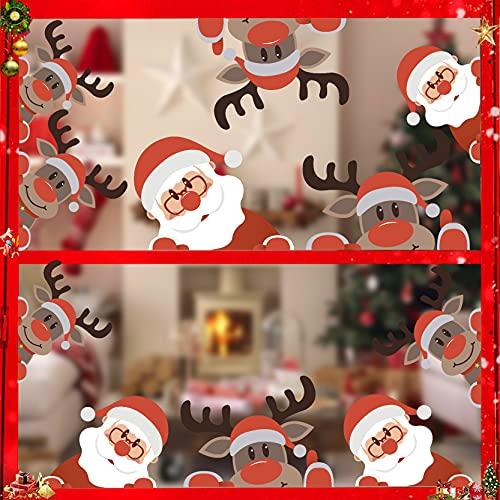 Adhesivos Navidad Escaparates Marca ANHUIB