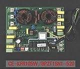 QYANGSHAN Tablero de Control de Aire Acondicionado Fujitsu eléctrico General Fuji 9705658028 K04AW-0509HUE-C1 9705642157 para AOH30LMBWL A (Color : Yellow)