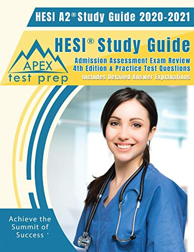 HESI A2 Study Guide 2020 & 2021: HESI Study Guide Admission Assessment Exam...