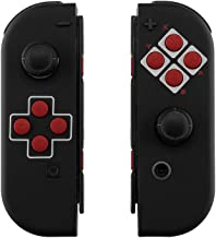 eXtremeRate Soft Touch Grip Classics NES Style Joycon Handheld Controller Housing with Full Set Buttons, DIY Replacement Shell Case for Nintendo Switch Joy-Con – Console Shell NOT Included