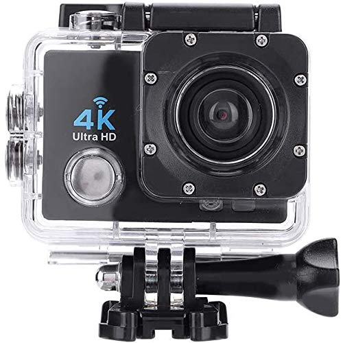 """Ejoyous Action Cam Unterwasserkamera Action Cam, 4K WiFi Action Kamera/Unterwasserkamera Full HD Sports Kamera mit 2\"""" LCD-Bildschirm"""