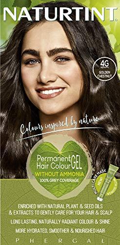 Naturtint Permanente Haarfarbe 4G Golden Chestnut 170ml