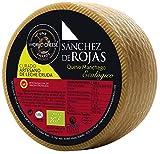 Sánchez de Rojas | Queso Manchego Curado Ecológico y Artesano | 2kg | Queso de Oveja con Leche Cruda | D.O. Protegida | Sabor Intenso | Queso Gourmet |