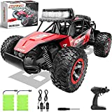 【ABS CHASSIS AND REINFORCED BODY FRAME】 The whole chassis of the remote control car is made of ABS plastic and the main body is made of aluminium alloy material. All these properties give the truck a better collision resistance to prolong its life sp...