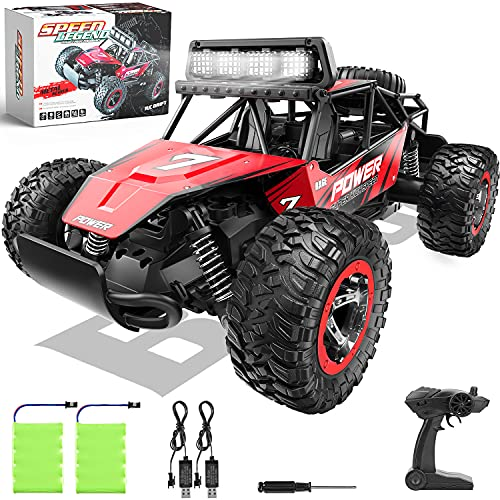 BEZGAR 17 Toy Grade 1:14 Scale Remote Control Car, 2WD High Speed 20 Km/h All Terrains Electric Toy Off Road...