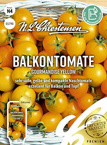 Balkontomate Gourmandise Yellow Samen, Saatgut