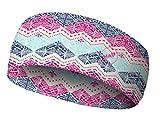H.A.D. Coolmax Hadband Blau-Pink, Kopfbedeckung, Größe One Size - Farbe Claudia