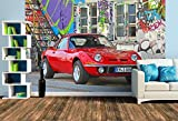 Un motif du calendrier Opel GT 1900 AL une légende sportive allemande, Size L   372 x 248 cm