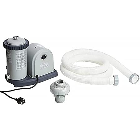 Intex Pompe filtrante à cartouche Krystal Clear - Piscine Kartuschenfilteranlage - OPTIMO 636T