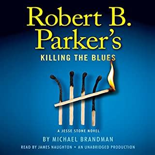 Robert B. Parker's Killing the Blues audiobook cover art