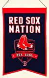 Winning Streak MLB Baseball Boston Red Sox Nation Wimpel Pennant Wool Blend Banner 54x35 -