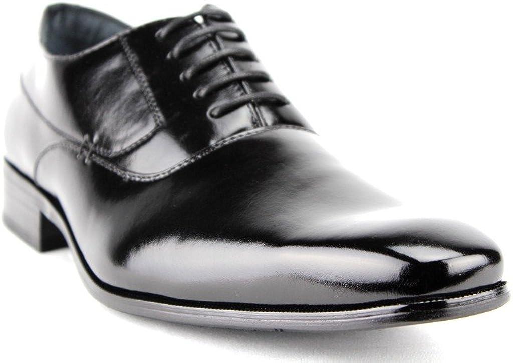 Delli Aldo Men's 19121 Classic Balmoral Lace Up Formal Dress Oxfords Shoes