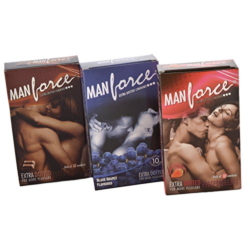 Manforce Flavoured Condoms For Men - 9 Condoms (3 Pieces In 1 Packet)