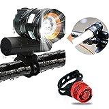 Bike Light Bicycle Headlights and Taillights, USB...
