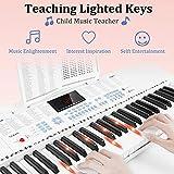 Immagine 2 vangoa tastiera piano elettrico 61