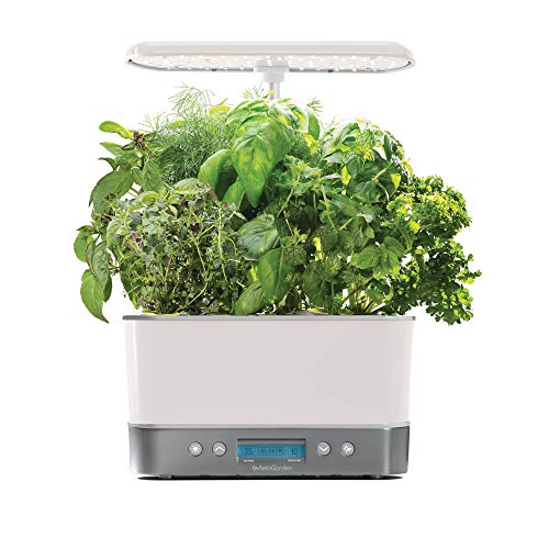 AeroGrow 901131-1200 Harvest Elite-White Indoor Garden