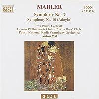 Mahler: Symphonies No. 3 & 10 by Ewa Podles (1995-07-28)