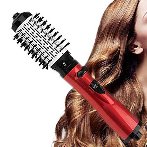 3 in 1 Haartrockner Warmluftbürste, Heißluftbürste Hair Dryer Styler & Volumizer,Negative Ionic Haarglätter Bürste & Curl Bürste für Alle Styling