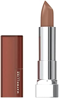 Maybelline New York Make-up Lippenstift Color Sensational Creamy matte lippenstift Nude Embrace / elegant lichtbruin met m...