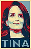 Tina Fey Illustration - SNL Comedy Icon Hollywood Comedian Movie Pop Art Poster Print (11x17 inches)