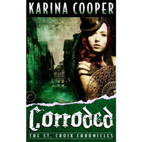 Corroded audiobook cover art